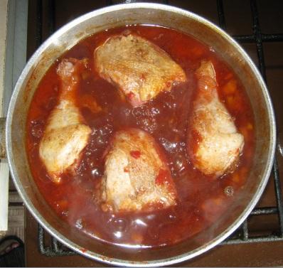 Курица в вине, фото №3