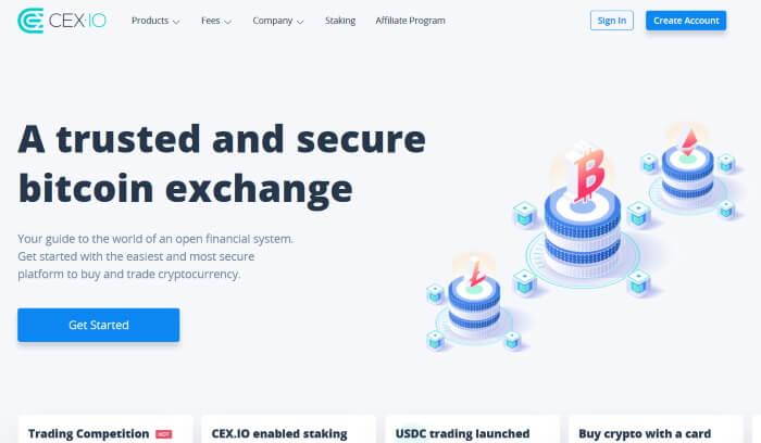 Онлайн-сервис обмена цифровых валют - CEX.io